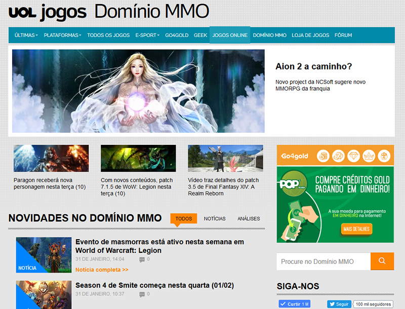 Domínio MMO